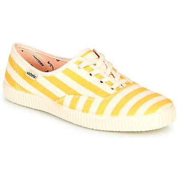 Topánky Ženy Nízke tenisky Victoria NUEVO RAYAS Žltá / Biela