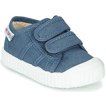 Topánky Deti Nízke tenisky Victoria BASKET VELCRO Modrá