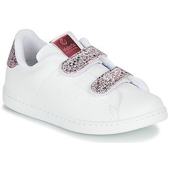 Topánky Dievčatá Nízke tenisky Victoria TENIS VELCRO G Biela