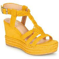 Topánky Ženy Sandále Bullboxer 175018F2T Žltá