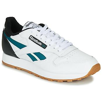 Topánky Muži Nízke tenisky Reebok Classic CL LEATHER MU Biela / Čierna