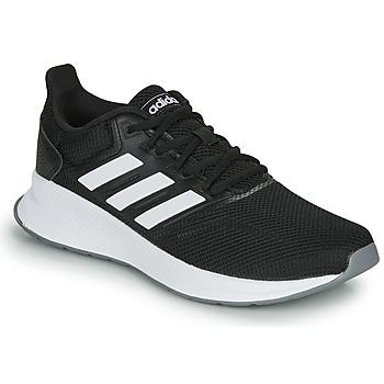 Topánky Ženy Bežecká a trailová obuv adidas Performance RUNFALCON Čierna / Biela