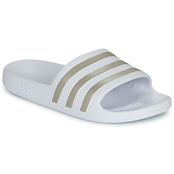 Topánky Ženy športové šľapky adidas Performance ADILETTE AQUA Biela