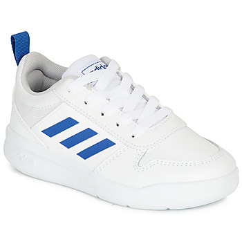 Topánky Chlapci Nízke tenisky adidas Performance TENSAUR K Biela / Modrá