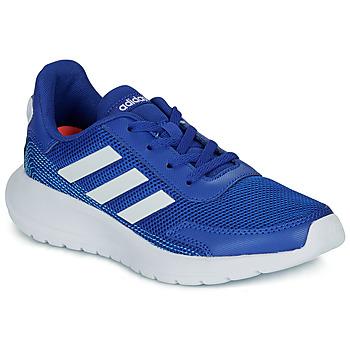 Topánky Chlapci Nízke tenisky adidas Performance TENSAUR RUN K Modrá / Biela