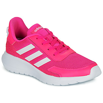 Topánky Dievčatá Nízke tenisky adidas Performance TENSAUR RUN K Ružová / Biela