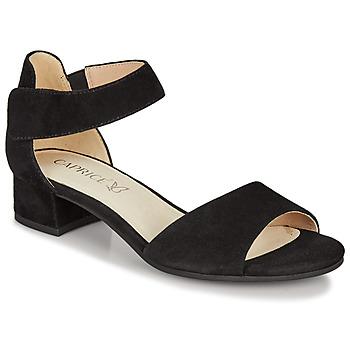 Topánky Ženy Sandále Caprice  Čierna