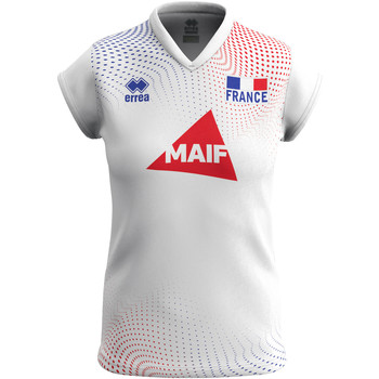 Oblečenie Ženy Tričká s krátkym rukávom Errea Maillot femme extérieur Equipe de france 2020 blanc