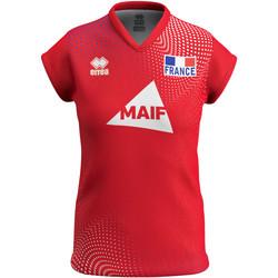Oblečenie Ženy Tričká s krátkym rukávom Errea Maillot femme third Equipe de france 2020 rouge