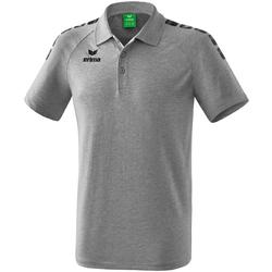 Oblečenie Polokošele s krátkym rukávom Erima Polo  5-C Essential gris