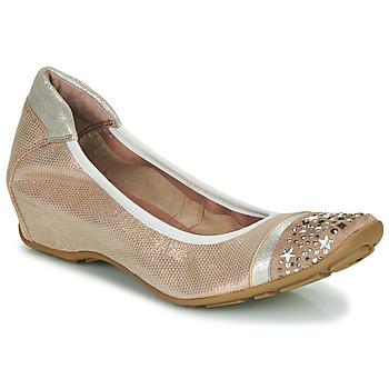 Topánky Ženy Balerínky a babies Mam'Zelle FETE Svetlá telová