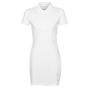 Oblečenie Ženy Krátke šaty Lacoste EUGENIE Biela