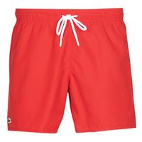 Oblečenie Muži Plavky  Lacoste JEANNAH Červená