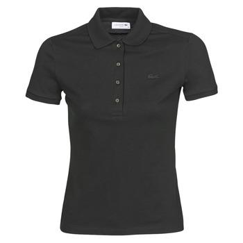 Oblečenie Ženy Polokošele s krátkym rukávom Lacoste PH5462 SLIM Čierna