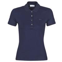 Oblečenie Ženy Polokošele s krátkym rukávom Lacoste PH5462 SLIM Námornícka modrá