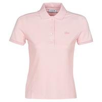 Oblečenie Ženy Polokošele s krátkym rukávom Lacoste PH5462 SLIM Ružová