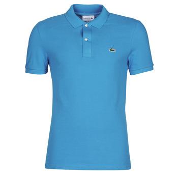 Oblečenie Muži Polokošele s krátkym rukávom Lacoste PH4012 SLIM Modrá / Tyrkysová
