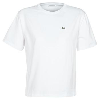 Oblečenie Ženy Tričká s krátkym rukávom Lacoste BENOIT Biela