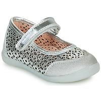Topánky Dievčatá Balerínky a babies Pablosky  Strieborná