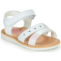 Topánky Dievčatá Sandále Pablosky  Biela