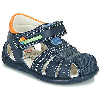Topánky Chlapci Sandále Pablosky  Námornícka modrá / Oranžová