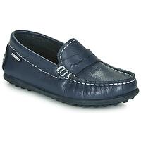 Topánky Chlapci Mokasíny Pablosky  Námornícka modrá