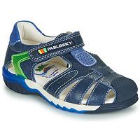 Topánky Chlapci Sandále Pablosky  Námornícka modrá / Zelená