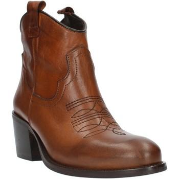 Topánky Ženy Čižmičky Exton MZ40 Leather