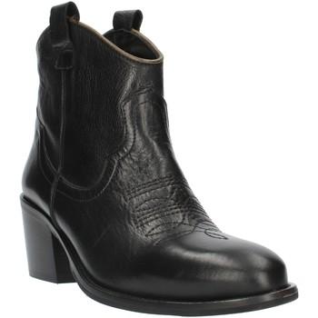 Topánky Ženy Čižmičky Exton MZ40 Black