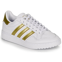 Topánky Ženy Nízke tenisky adidas Originals MODERN 80 EUR COURT W Biela / Zlatá
