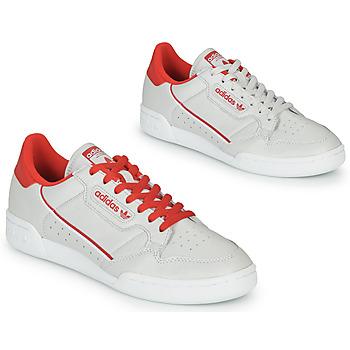 Topánky Nízke tenisky adidas Originals CONTINENTAL 80 Béžová / Červená