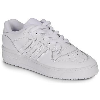 Topánky Ženy Nízke tenisky adidas Originals RIVALRY LOW W Biela
