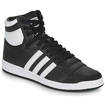 Topánky Členkové tenisky adidas Originals TOP TEN HI Čierna