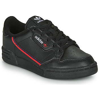 Topánky Deti Nízke tenisky adidas Originals CONTINENTAL 80 C Čierna