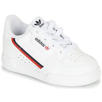 Topánky Deti Nízke tenisky adidas Originals CONTINENTAL 80 I Biela