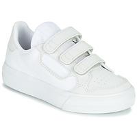 Topánky Deti Nízke tenisky adidas Originals CONTINENTAL VULC CF C Biela / Béžová