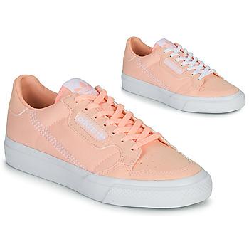 Topánky Dievčatá Nízke tenisky adidas Originals CONTINENTAL VULC J Ružová