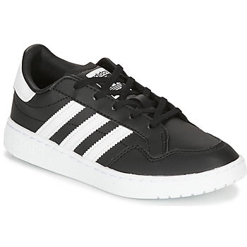 Topánky Deti Nízke tenisky adidas Originals Novice C Čierna / Biela