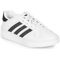 Topánky Deti Nízke tenisky adidas Originals Novice C Biela / Čierna
