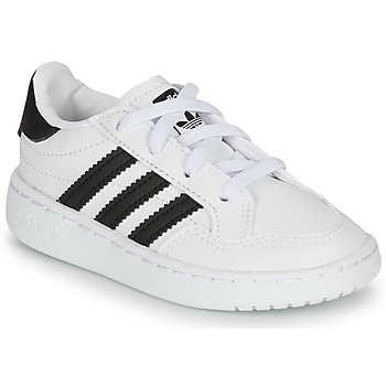 Topánky Deti Nízke tenisky adidas Originals NOVICE EL I Biela / Čierna