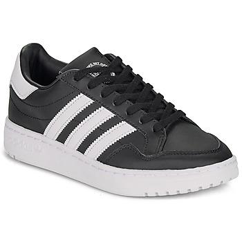 Topánky Deti Nízke tenisky adidas Originals Novice J Čierna / Biela