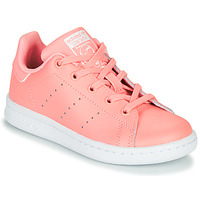 Topánky Dievčatá Nízke tenisky adidas Originals STAN SMITH C Ružová
