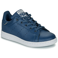 Topánky Chlapci Nízke tenisky adidas Originals STAN SMITH C Modrá