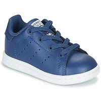 Topánky Chlapci Nízke tenisky adidas Originals STAN SMITH EL I Námornícka modrá