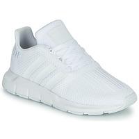 Topánky Chlapci Nízke tenisky adidas Originals SWIFT RUN C Biela
