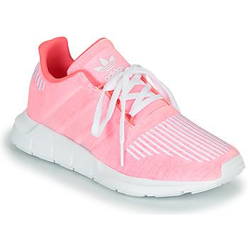 Topánky Dievčatá Nízke tenisky adidas Originals SWIFT RUN J Ružová