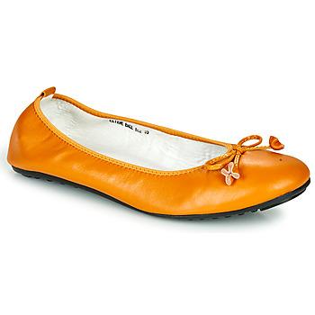 Topánky Ženy Balerínky a babies Mac Douglas ELIANE Okrová-svetlá hnedá