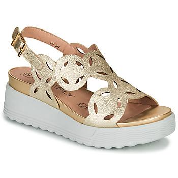 Topánky Ženy Sandále Stonefly PARKY 9 Zlatá