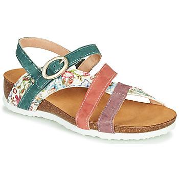Topánky Ženy Sandále Think JULIA Červená / Zelená / Biela