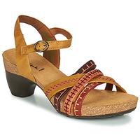 Topánky Ženy Sandále Think TRAUDI Žltá / Červená